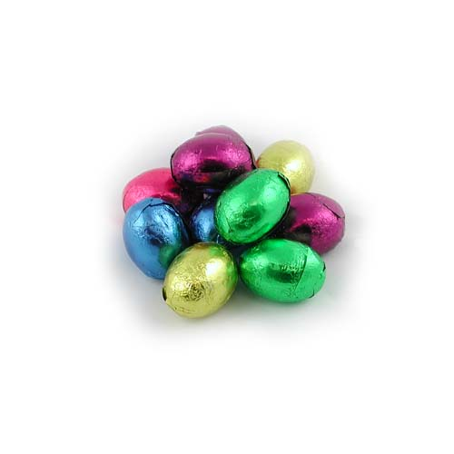 Dark Chocolate Foiled Easter Eggs
