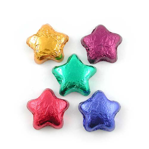 Dark Chocolate Stars