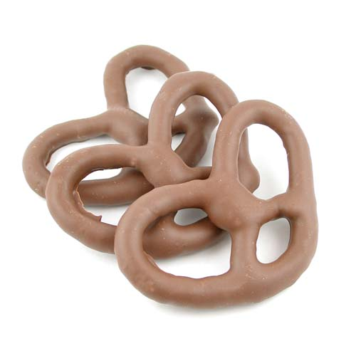 Sugar Free Milk Chocolate Pretzels Large - Chocolate Store, the online ...