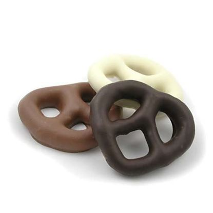 Picture of Gourmet Chocolate Covered Pretzels Plain