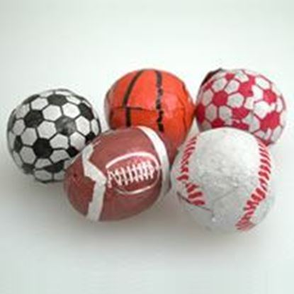 Picture of Chocolate Sports Balls