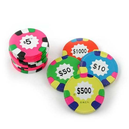 Picture of Milk Chocolate Poker Chips