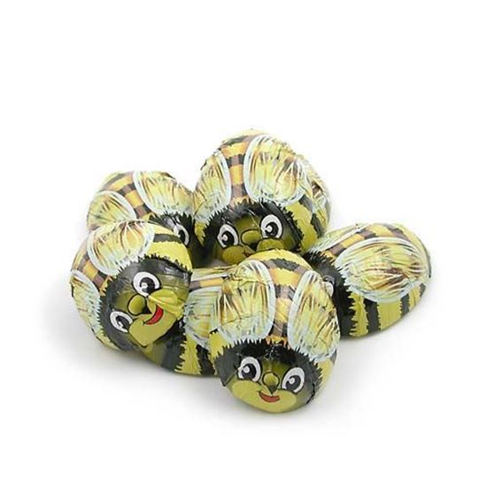 Picture of Milk Chocolate Foiled Bee's