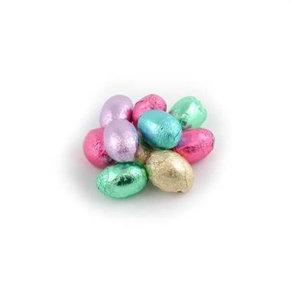 Picture of Milk Chocolate Foiled Easter Eggs