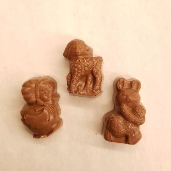 Picture of Peanut Butter Easter Figures
