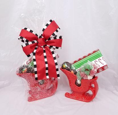 Picture of Santas Sleigh Basket